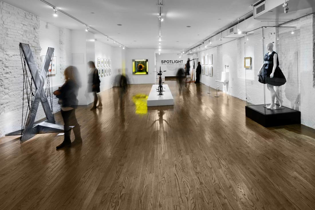 "Gallery 2B is where the Museum's ""Spotlight on the Permanent Collection"" resides."